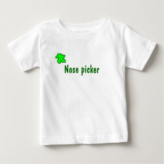 Nose picker baby T-Shirt