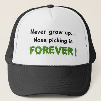 Nose Picking Trucker Hat