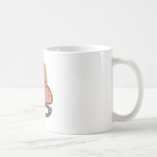 Nose Piercing Basic White Mug