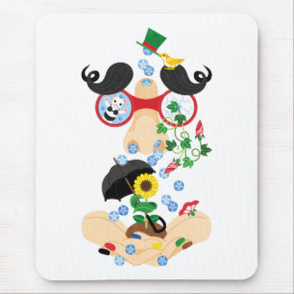 Nose water (Runny nose of grace) of favoring Mouse Pad