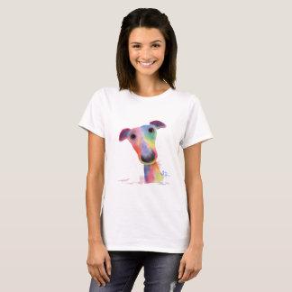 Nosey Dog Whippet Greyhound  'HANK' T-Shirt Top