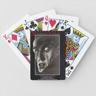 Nosferatu Bicycle Playing Cards