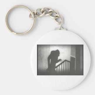 Nosferatu Crawling the Stairs Basic Round Button Key Ring