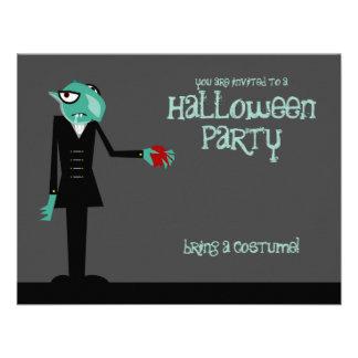 Nosferatu Invites You Halloween Party Invitation