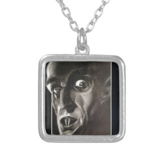 Nosferatu Silver Plated Necklace