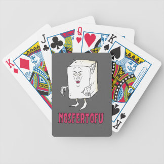 NOSFERTOFU BICYCLE PLAYING CARDS