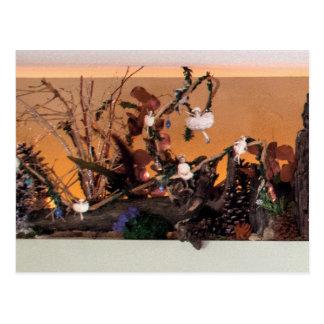 Nostalgia Garden   Enchanted Alcove 500 Postcard