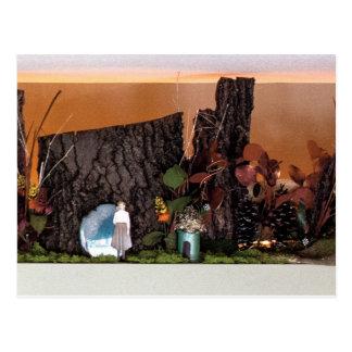 Nostalgia Garden   Enchanted Alcove 502 Postcard