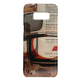nostalgia Newspaper Retro TV vintage Television Case-Mate Samsung Galaxy S8 Case