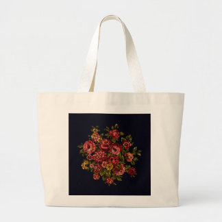 Nostalgia  -- Roses Large Tote Bag