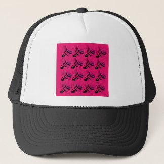 Nostalgia Wine pink black Trucker Hat