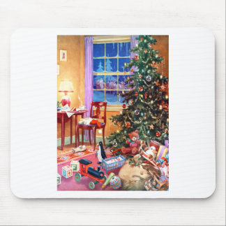 Nostalgic Christmas Tree Mousepad