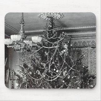 Nostalgic Christmas Tree Mousepads