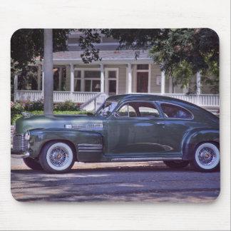 Nostalgic Classic Green Cadillac Car Mouse Pad