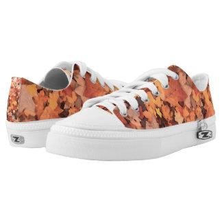Nostalgic Fall Foliage   Low Top Shoes