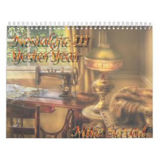Nostalgic III - Yesteryear Wall Calendars