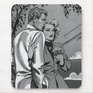 Nostalgic Romance Mousepad