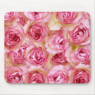 Nostalgic roses mouse pads