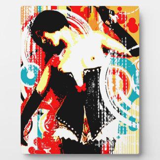 Nostalgic Seduction - Damsel In Domination Plaque