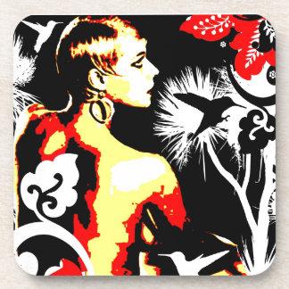 Nostalgic Seduction - Hummingbird Dance Coaster
