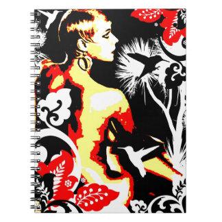 Nostalgic Seduction - Hummingbird Dance Notebooks