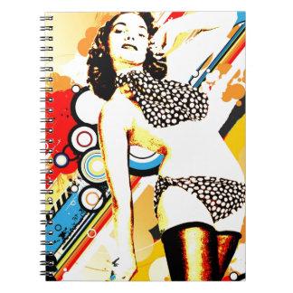 Nostalgic Seduction - Polka Dottie Notebooks