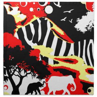 Nostalgic Seduction - Safari Dreams Napkin