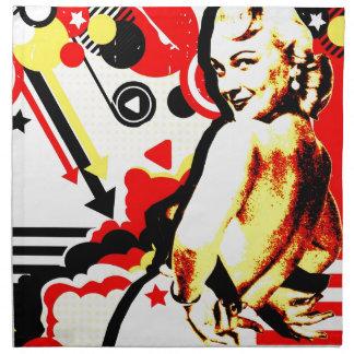 Nostalgic Seduction - Striptease Napkin