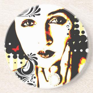 Nostalgic Seduction - Subjected to Ink Coaster