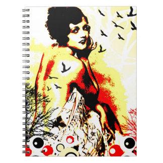 Nostalgic Seduction - Timeless Flight Notebook