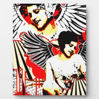 Nostalgic Seduction - Vexed Angel Plaque