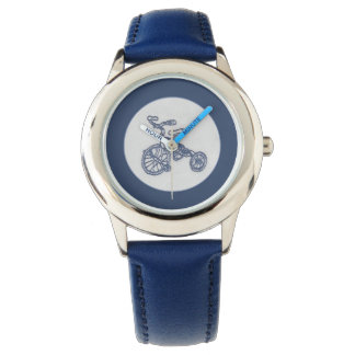 Nostalgic tricycle watch