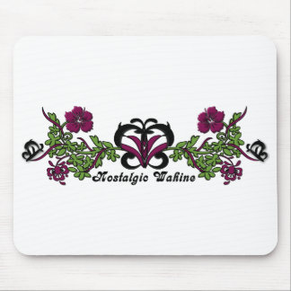 Nostalgic Wahine Butterfly Mousepad