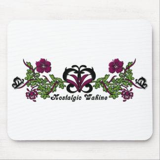 Nostalgic Wahine Butterfly Mousepad