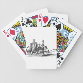 Nostalgically Exquisite Vintage Steam Punk Engine Bicycle Playing Cards