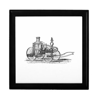 Nostalgically Exquisite Vintage Steam Punk Engine Large Square Gift Box