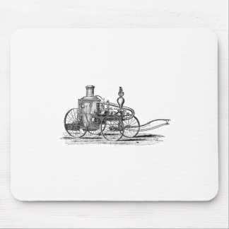 Nostalgically Exquisite Vintage Steam Punk Engine Mouse Pad