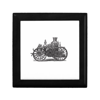 Nostalgically Exquisite Vintage Steam Punk Engine Small Square Gift Box