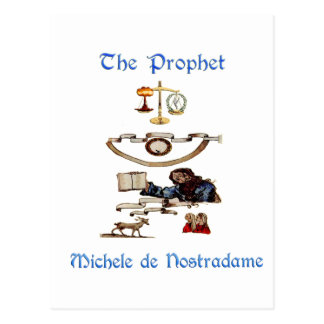 Nostradamous Products Postcard