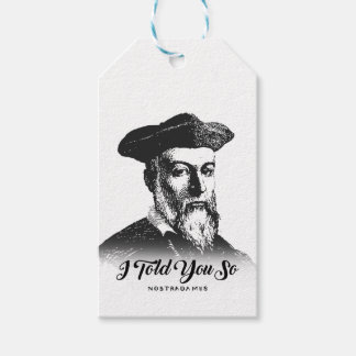 Nostradamus: I Told You So Gift Tags