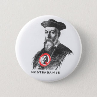 Nostradamus Says NOBAMA! 6 Cm Round Badge