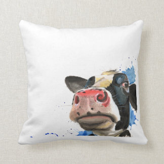 Nosy Cow Cushion ,Cow cushion,farm animal
