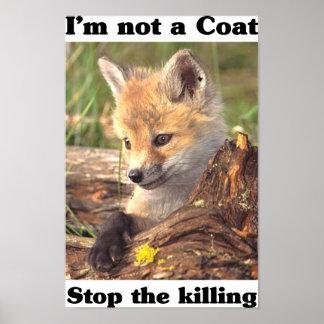 Not A Coat-Fox Posters