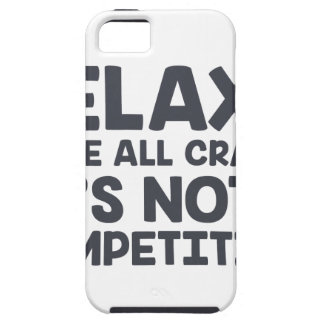 Not A Competition iPhone 5 Cover