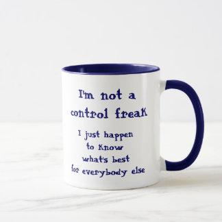 Not a control freak mug