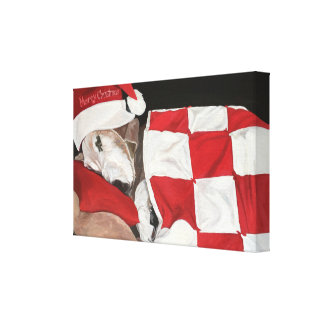 Not a Creature was Stirring Canvas Print