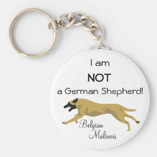 NOT a German Shepherd Key Ring