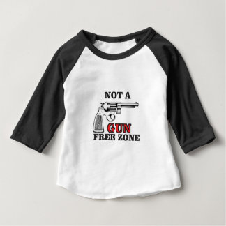 not a gun free zone tag baby T-Shirt
