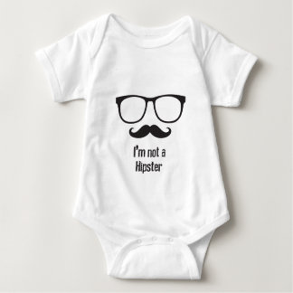 Not A Hipster Baby Bodysuit