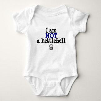 Not a kettlebell baby bodysuit